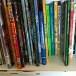 one part of my poetry bookshelf